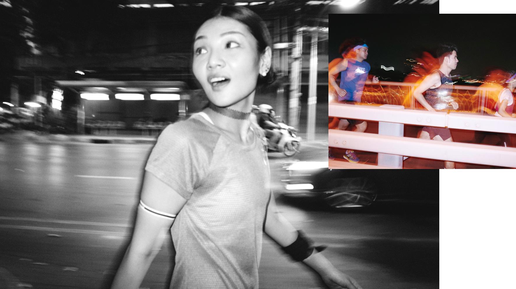 NIKE RUN BY REBEL 5